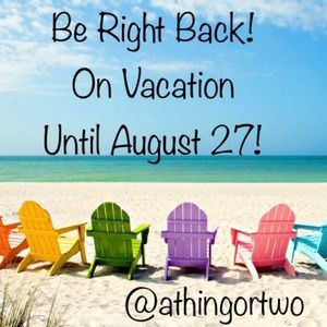 Hi there! Closet is on vacation until August 27